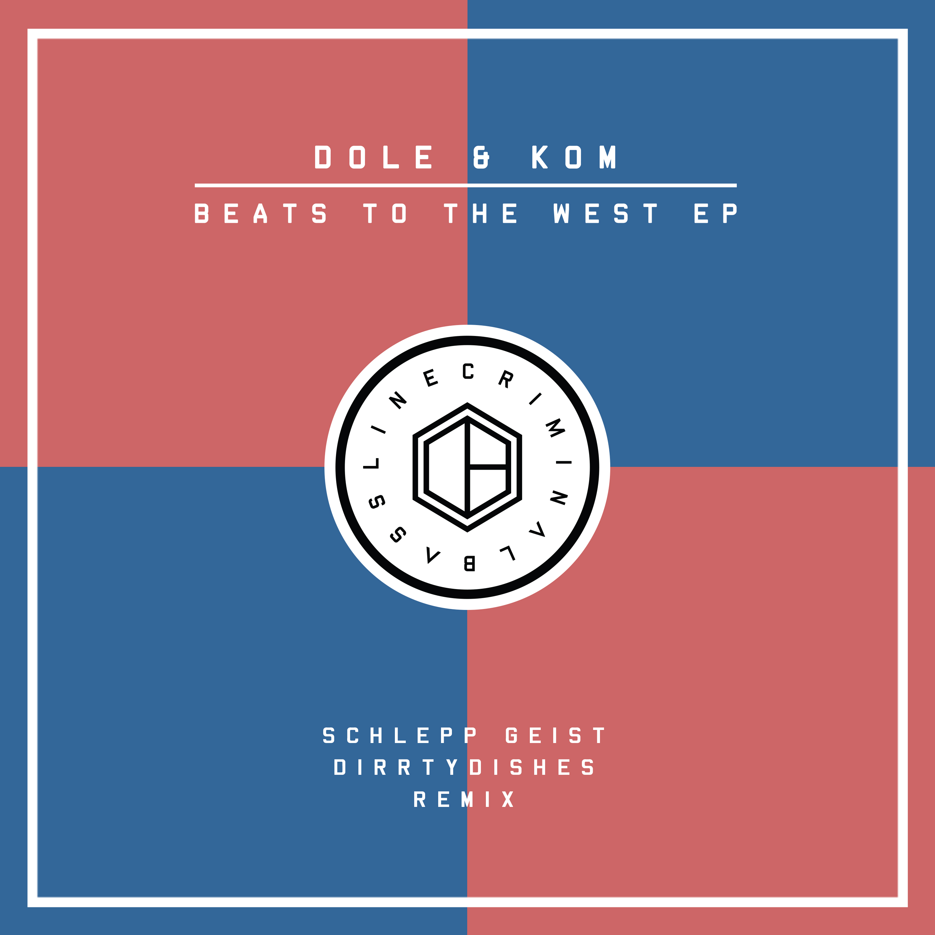 RELEASE: DOLE & KOM – BEATS TO THE WEST EP